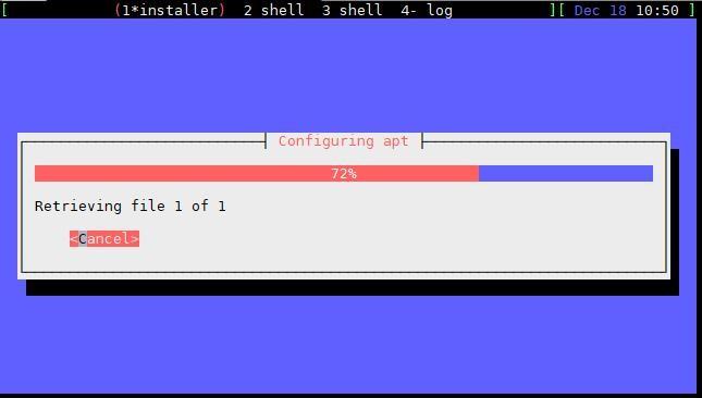 Configuring apt