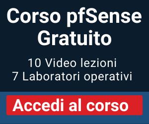 Corso pfSense