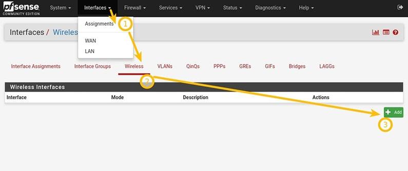pfSense® 2 4 x: WIFI configuration an illustrated guide